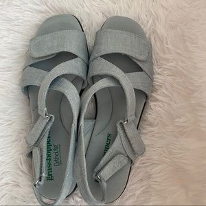 Grasshoppers Ortholite Velcro Slingback Sandals